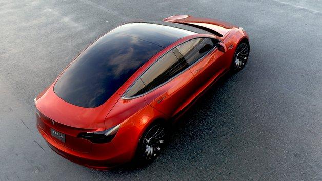 <p>Model 3 in Rot</p>