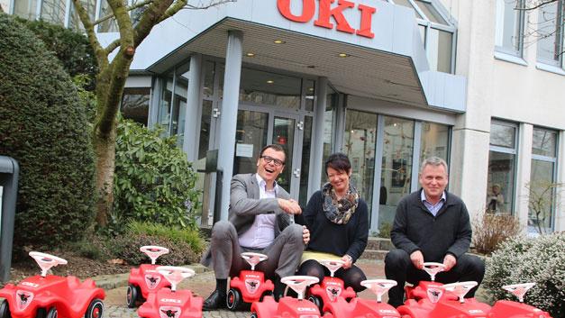 <p>Der deutsche Ableger der japanischen OKI Electric Industry gab p&uuml;nklich zum 1. April das Umr&uuml;sten seiner Firmenflotte bekannt: