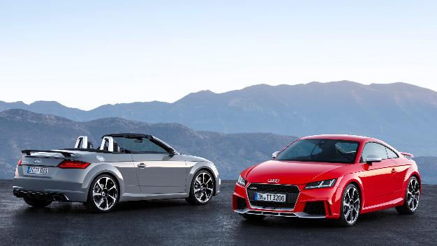 Der Audi TT RS verfügt sowohl als Coupé als auch als Roadster über eine Motorleistung von satten 294 kW (400 PS).