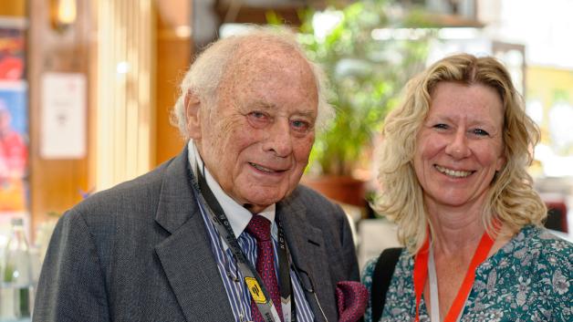 Prof Würth und Nicole Wörner