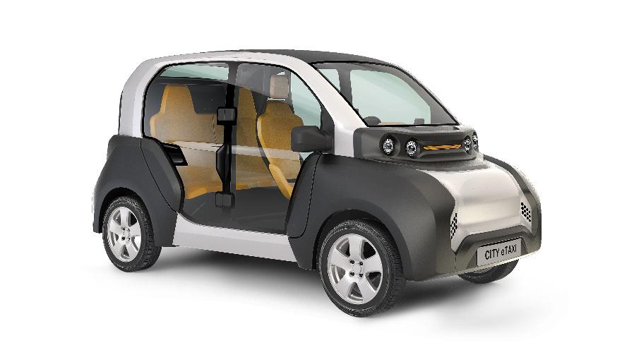 Für den lokal emissionsfreien Verkehr in Innenstädten wurde der Elektro-Kleinstwagen CITY-eTaxi entwickelt, dessen Designprototyp am 2. Juni in München enthüllt wurde.