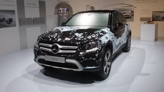 2017 will Daimler den Brennstoffzellen-SUV GLC F-CELL vorstellen.