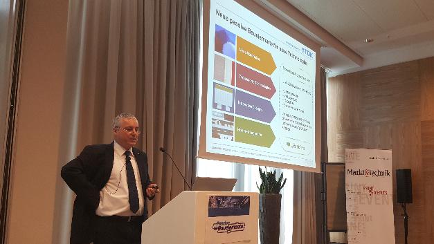 Auf diese vier Säulen stützt sich die Weiterentwicklung passiver Bauelemente laut Dr. Georg Kügerl.