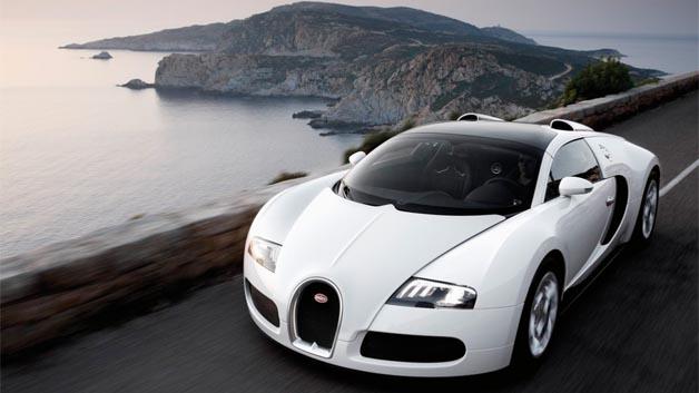 ...doch sprichwörtlich kommt man(n) ohne ihr weiter. Das hat sich vermutlich auch Ronaldo gedacht, der u.a. einen Bugatti Veyron fährt.