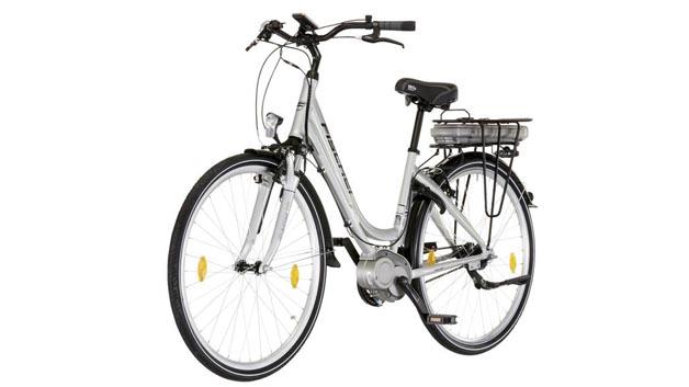 Platz 14 für Elektrocitybike (Alu) ECU 1603 von Fischer. Auch hier gab es die Gesamtnote 5,0 wegen Sicherheits- und Haltbarkeitsmängel.