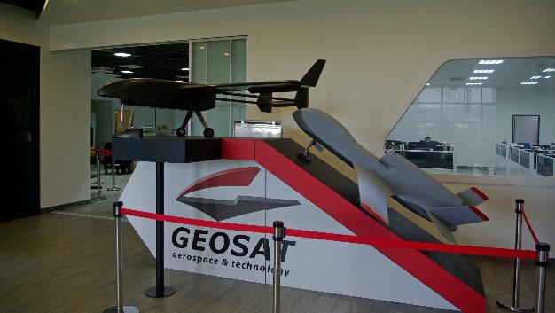 Die Firma Geosat aus Taiwan produziert verschiedene unbemannte Fluggeräte für unterschiedliche Anwendungen und benötigte Zubehör.