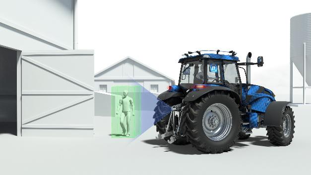 …oder Fußgänger-Erkennung: Auch bei Nutzfahrzeugen spielen intelligente Assistenzsysteme eine immer wichtigere Rolle.