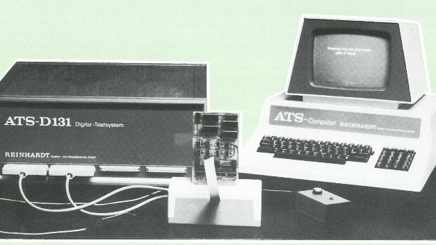 … das ATS-D131, ein REINHARDT-Testsystem aus der ersten Generation. Die erste Wetterstation, …