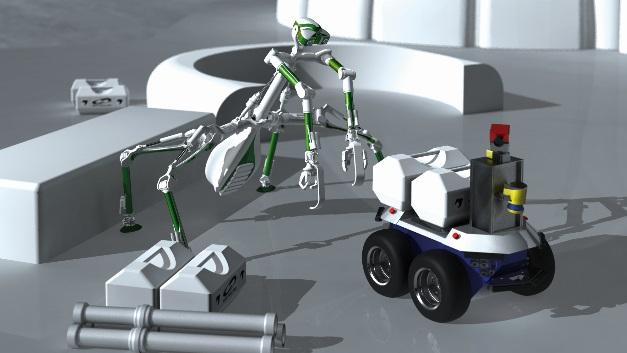 So könnte das künftige Arbeitsumfeld von Mantis aussehen.