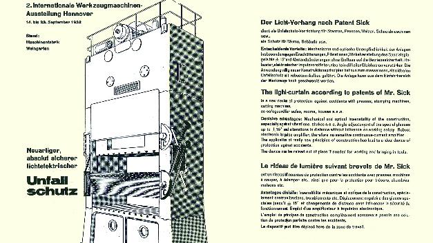 Der erste Durchbruch gelang mit dem 1951 patentierten Licht-Vorhang als Unfallschutz.