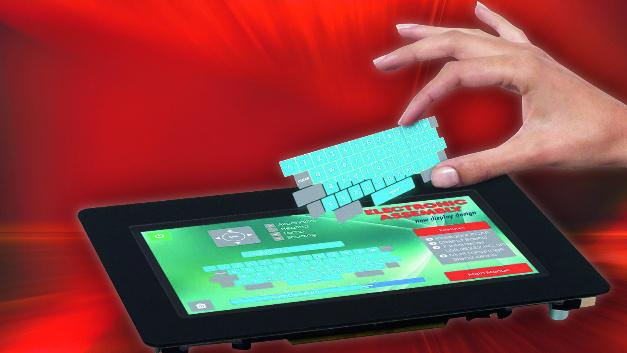 Electronic Assembly (Halle A3, Stand 300) Objekte auf dem Bildschirm verändern, zoomen, drehen und gruppieren – das alles können die »intelligenten« Displaybausteine der Produktfamilie »EA uniTFT«, die Electronic Assembly in München zeigt. Gleichzeitig lassen sich die Objekte mit Aktionen verbinden. Damit kann der Entwickler recht einfach Tasten, Drehknöpfe und andere Bedienelemente erstellen und ihnen eine bestimmte Funktion zuweisen. Optional sind die Displays mit einem Touchpanel in resistiver oder PCAP-Technik zu beziehen.