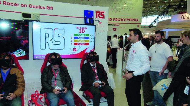 RS Components (Halle A4, Stand 241)  Eine Spielwiese für Entwickler bietet RS Components auf seinem Messestand. So veranstaltet der Distributor einen »Roboterkampf«-Live-Event. Besucher erhalten die Möglichkeit, spielerisch Roboter gegeneinander kämpfen zu lassen und Preise zu gewinnen. Der Stand wird auch eine kleine Gaming-Arena aufweisen, die Spielkonsolen mit den frühen Versionen der 1980er Jahren bis hin zu den neuesten modernen Virtual-Reality-Spielen aufbietet. Zusätzlich zeigt RS die neuesten Produkte und Technologien, die jetzt beim Distributor lagerverfügbar sind.