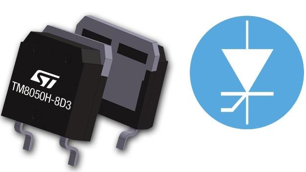 STMicroelectronics hat einen oberflächenmontierbaren 800-V-Thyristor vorgestellt, der sich ohne Derating bei Temperaturen bis 150 °C betreiben lässt. Der in einem High-Voltage-D³PAK-Gehäuse (TO-268-HV) untergebrachte TM8050H-8 weist einen Nennstrom von 80 A auf und ist für Anwendungen im Leistungsbereich von 1 bis 10 kW optimiert.