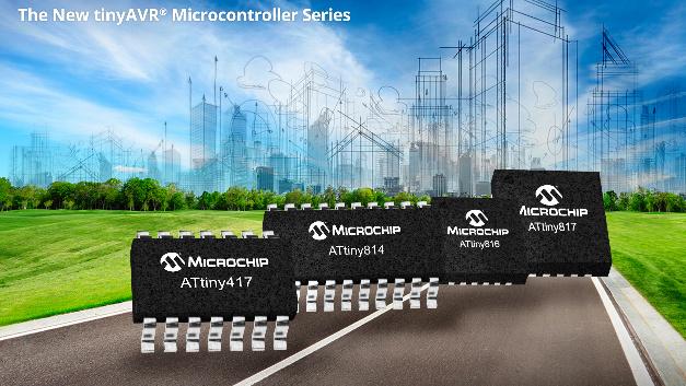Wie geht es mit den AVR-Mikrocontrollern weiter nachdem Atmel von Microchip aufgekauft wurde? Auf der electronica präsentiert Microchip neue 8-bit-AVR-Controller der Familie tiny817. Die sog. core-independent peripherals, die es bereits auf Microchip-Controllern gibt, werden mit den tiny817-Bausteinen auch auf Atmel-Controllern eingeführt.