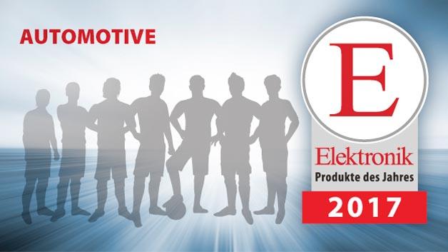 Wählen Sie aus elf Nominierungen Ihre Produkte des Jahres der Kategorie Automotive.