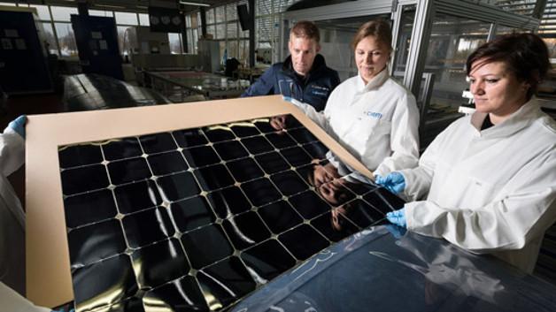 CSEM hat spezielle Photovoltaik-Module entwickelt, die auf einer Fläche von rund 22 Quadratmetern die Flügel des Flugzeugs ausrüsten werden.