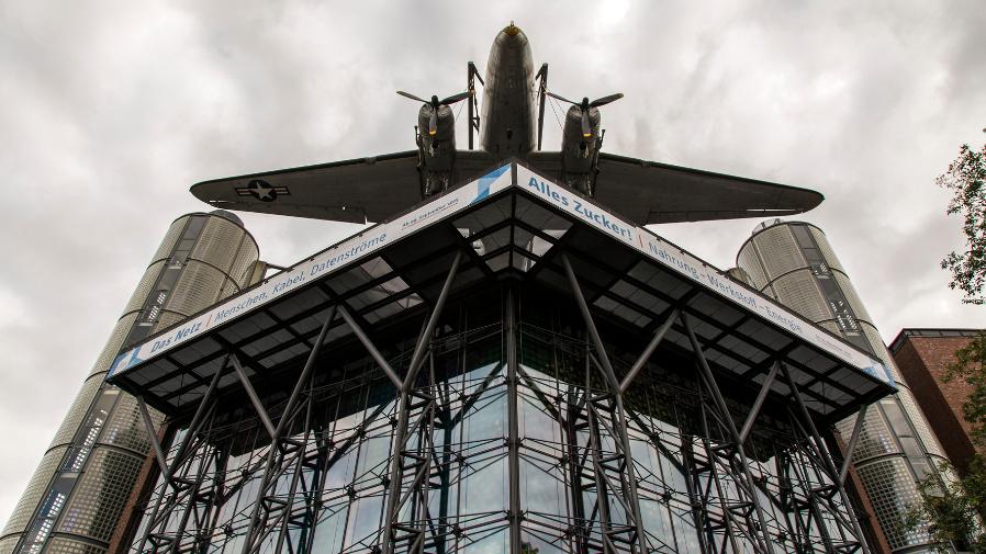 Fassade des Berliner Technikmuseums