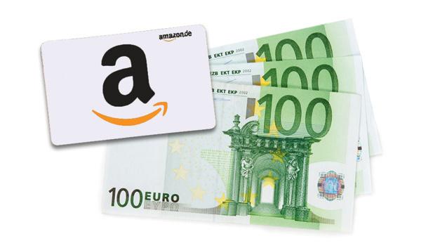 Amazon-Gutschein über 300 Euro