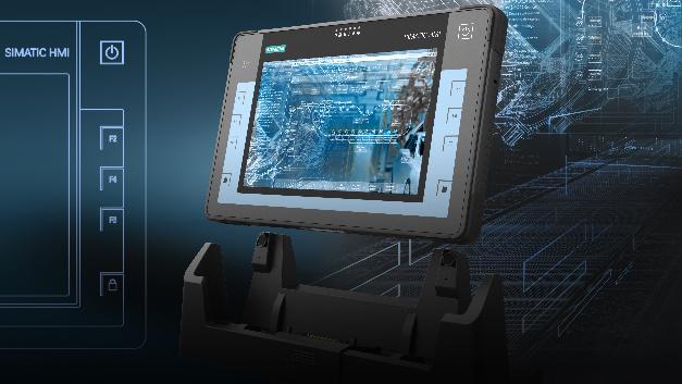 Siemens hat erstmals einen Tablet-PC auf den Markt gebracht: Der Industrial-Tablet-PC »Simatic ITP1000« ist dem Unternehmen zufolge der zurzeit schnellste Tablet-PC am Markt. Er ist mit einem projektiv-kapazitiven 10,1-Zoll-Multitouch-Display ausgestattet und beruht auf einem Dualcore-Prozessor des Typs »Core-i5« von Intel in »Skylake-H«-Mikroarchitektur. Der DDR4-RAM des Tablet-PCs ist bis zu 16 GByte erweiterbar; zusätzlich ergänzt eine 256 oder 512 GByte große SSD (Solid State Drive) das Gerät.