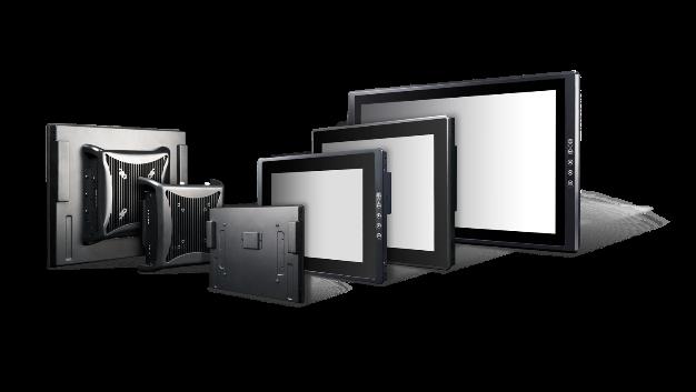 Die flexibel konfigurierbaren Industrie-Display-Systeme der Serie »VIO« von C&T (Vertrieb: Industrial Computer Source) lassen sich je nach ausgewähltem Modul entweder als leistungsstarker oder energiesparsamer Panel-PC oder als Touch-Monitor einsetzen. Sie zeichnen sich durch das patentierte modulare Designkonzept MDM (Multi-Display Module) aus, das viele unterschiedliche Konfigurationen ermöglicht. Verschiedene Display-Module für Größe/Touch/Rahmen lassen sich folglich mit unterschiedlichen PC-Modulen kombinieren.
