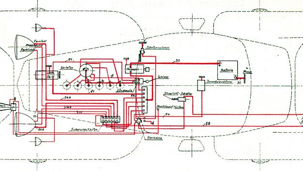 Nach dem Krieg beliefert Leoni die aufstrebende Fahrzeugindustrie mit Leitungen und ersten einbaufertigen Kabelsätzen. Damalige Modelle enthalten rund 75 Meter elektrische Leitungen. Heute sind etwa 3.000 Meter verbaut.
