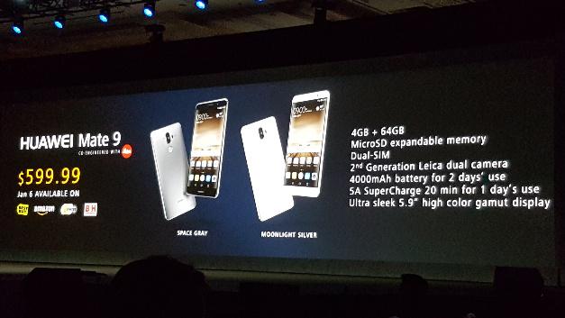 Mit einem Kampfpreis von rund 600 Dollar zieht Huawei mit seinem neuen Mate 9 in die Schlacht gegen Apple und Samsung.