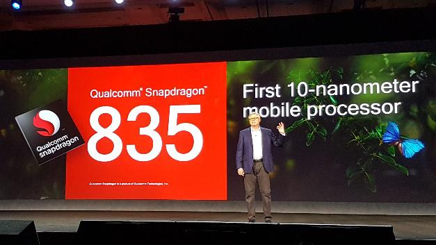 Das neue Flaggschiff der Snapdragon-Mobilprozessoren ist der 835, der erstmals in einem 10-nm-Prozess gefertigt wird.