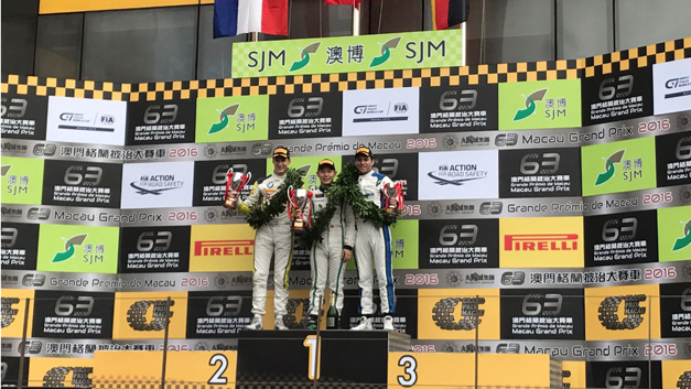 """HCB-Rutronik-Racing-Fahrer Fabian Plentz belegt in der Kategorie """"Non-Manufacturer"""" Platz 3."""
