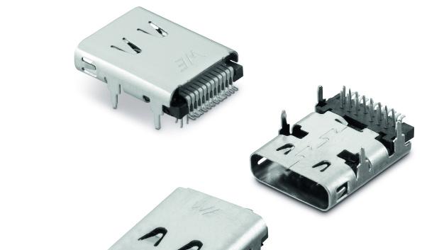 Der USB-3.1-Steckverbinder, Typ C, erfüllt auch die Anforderungen industrieller Applikationen.