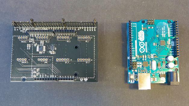 Im Redaktionslabor kommt der Arduino Uno zum Einsatz.