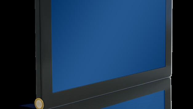 Der neue 18,5-Zoll-Monitor mit PCAP-Technologie ist der dünnste je von Data Modul entwickelte Touch-Monitor.