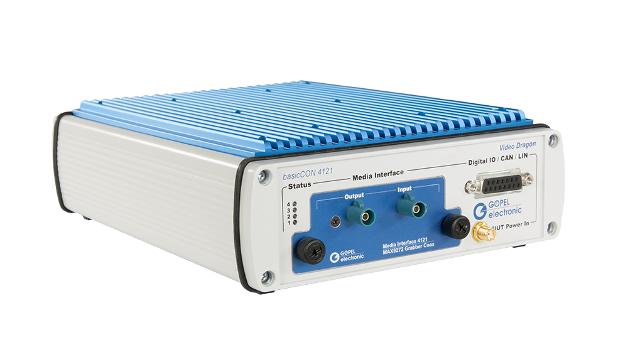 Für Automotive-Anwendungen eignet sich der Video Dragon Frame Grabber & Frame Generator.