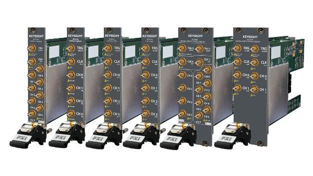 Die AWGs und Digitizer der Familie M3xxxA nutzen den FPGA- und PXI-Referenztakt für Echtzeit-Sequenzierung und Mehrkanal/Intermodul-Synchronisation.