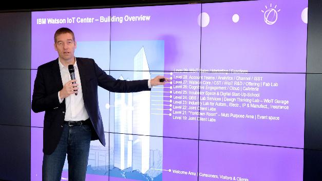 Niklaus Waser, VP Watson IoT Center München