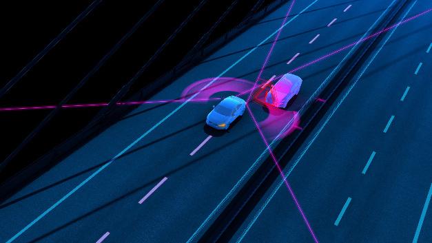Das Blind-Spot-Information-System (BLIS) macht den Fahrer auf andere Verkehrsteilnehmer im toten Winkel aufmerksam.