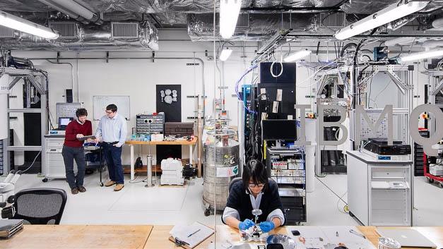 Das IBM Q Lab im Watson Research Center, New York.