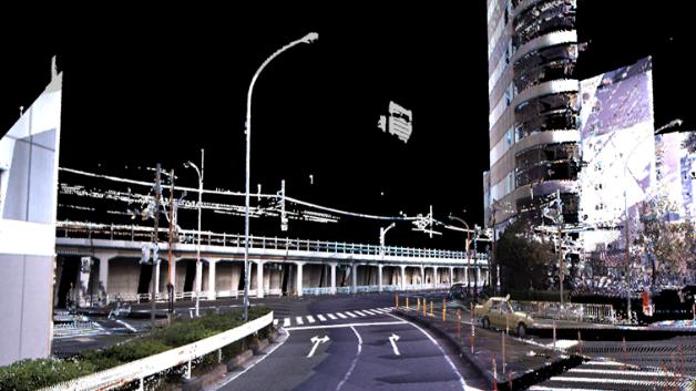 ...von der japanischen Regierung. Zunächst sollen Japans Autobahnen komplett in 3D kartografiert werden, was später alle normalen Straßen ausgeweitet werden soll.