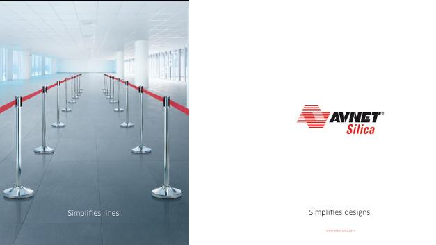 Platz 1 in der Kategorie »bester Slogan«: Avnet Silica überzeugte die Leser mit dieser Anzeige.