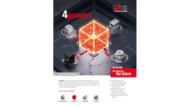 Würth Elektronik machte den zweiten Platz in der Kategorie »beste Grafik«.