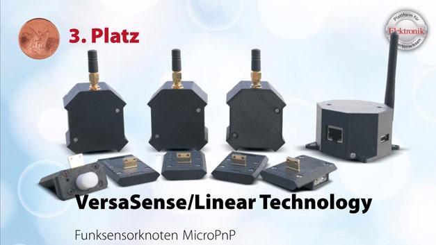 Mit der MicroPnP-Plattform von VersaSense und Linear Technology lassen sich Low-Power-Funksensornetzwerke auf der Basis der Funktechnik SmartMeshIP von Linear Technology ohne aufwändige Konfiguration realisieren.