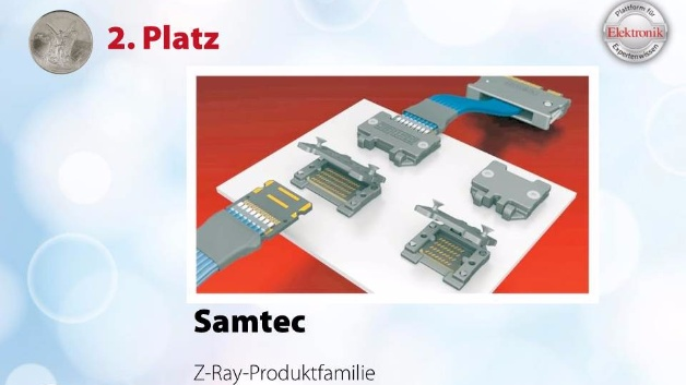 2. Gewinner der Produktgruppe Elektromechanik bei der Leserwahl 2017