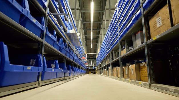 Mit der neuen Halle »H3« kann Reichelt sein Produktsortiment verdreifachen.
