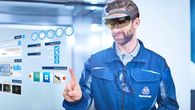 HoloLens und Skype sorgen für kürzere Wartungszeiten bei Aufzügen.