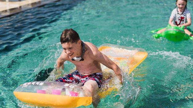 Der Airbag für Schwimmer eignet sich sowohl für den Badespaß als auch…