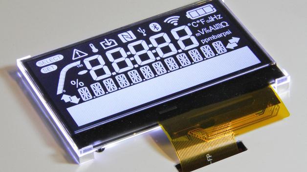 Kundenspezifisches PMVA-LCD-Modul