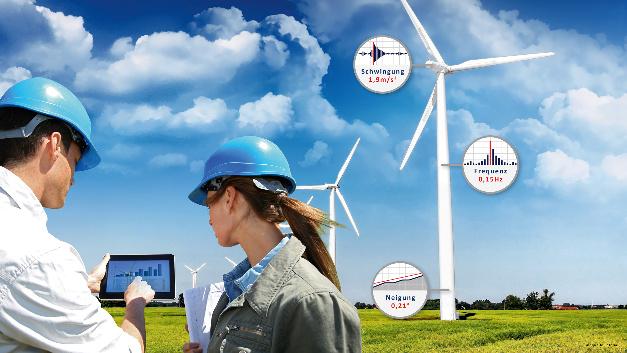 GEPA (Halle 5, Stand 106/20): GEPA zeigt auf der Sensor+Test 2017 ein komplettes mobiles Online-Messsystem inklusive dem multifunktionalen triaxialen Sensor 3D-ACC mit integrierter Messkette. Das System eignet sich ideal zur Zustandsüberwachung von Maschinen, Konstruktionen, Bauwerken und Fahrzeugen. Es läßt sich einfach in Netzwerke integrieren oder über diverse Funktechnologien vernetzen. Die robuste multifunktionale Sensorik überwacht sowohl Neigung als auch Winkeländerung und ist in der Lage, sogar niederfrequente Schwingungen mit höchster Auflösung zu messen. Durch ihre einfache Programmierbarkeit lässt sie sich individuell den kundenspezifischen Anforderungen anpassen. Nach Vorgabe können sensorintern FFTs berechnet und Grenzwerte eingestellt werden, bei deren Überschreitung eine automatische Alarmierung in Echtzeit erfolgt via SMS, per E-Mail oder auf Wunsch auch als akustisches Warnsignal. Zudem gibt es eine Software mit einer Bedienerschnittstelle für mobile Endgeräte (Handy/Tablet).