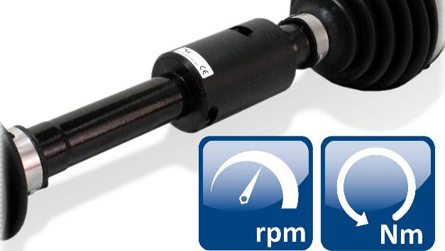 Caemax Technologie (Halle 1, Stand 310): Caemax hat ein innovatives System zur berührungslosen Leistungsmessung an Fahrzeugen entwickelt, das ohne zusätzliche Sensorik zur Drehwinkelerfassung auskommt. Die Erfassung von Drehwinkel und Drehmoment ist komplett in das robuste, wasserdichte Gehäuse integriert. Somit ist das System prädestiniert für den mobilen Einsatz. Die im realen Fahrbetrieb übertragene Leistung ist eine wichtige Kenngröße, um die Effizienz von Antrieben zu quantifizieren. Die Antriebsleistung berechnet sich aus Drehmoment und Drehzahl der Welle. Im Fahrversuch stellt insbesondere die Drehzahlerfassung an den Antriebswellen eine besondere Herausforderung dar: Optische und elektromagnetische Standard-Verfahren zur Messung des Drehwinkels tolerieren nur geringe Abweichungen im Abstand zwischen Statorkopf und Welle und reagieren empfindlich auf Schmutz und Nässe in der Umgebung. Caemax integriert deshalb eine neuartige, MEMS-basierte Drehzahlsensorik in ein leicht montierbares Wellengehäuse, welches bereits die Telemetrieelektronik sowie die Bauteile zur intelligenten induktiven Energieversorgung enthält. Aus Drehmoment und Drehzahl berechnet das System online die mechanische Leistung und gibt sie komfortabel als weitere Messgröße aus.