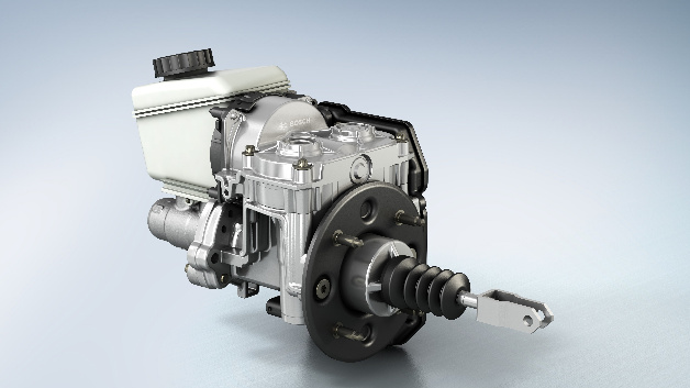 iBooster – Intelligent verstärkte Bremskraft ohne Unterdruck.