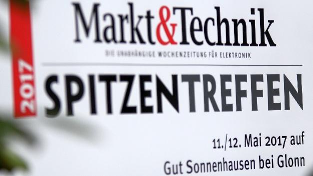 Auf dem Markt&Technik Spitzentreffen 2017 kamen auch dieses Jahr die Top-Manager aus der Elektronikindustrie zusammen.