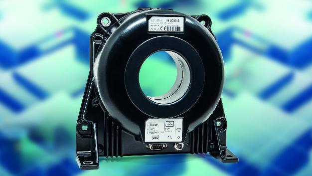 LEM präsentierte auf der PCIM unter anderem den neuen Stromwandler IN 2000-S.